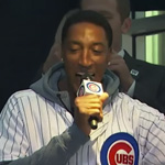 "Scottie Pippen Struggles to Sing ""Take Me Out To The Ballgame"" [WATCH]"